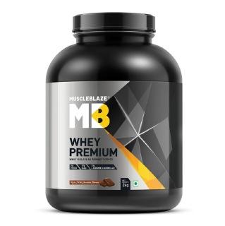 MuscleBlaze Whey Premium,  4.4 lb  Rich Milk Chocolate