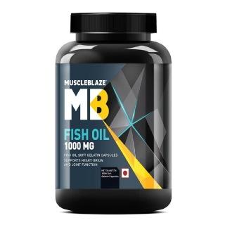 MuscleBlaze Fish Oil (1000 mg),  180 softgels