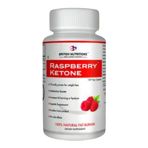 British Nutritions Raspberry Ketone,  60 capsules