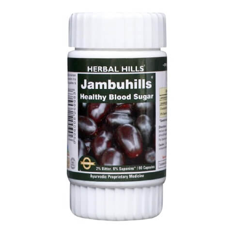 Herbal Hills Jambuhills,  700 capsules