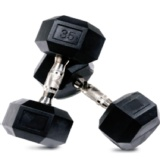 CRUZE Fitness Hexagon Dumbbells Imported,  Black  35 Kg Per Piece