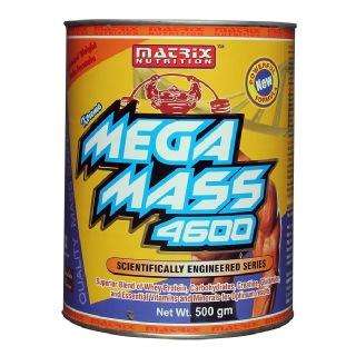 Matrix Nutrition Mega Mass 4600,  Chocolate  1.1 lb