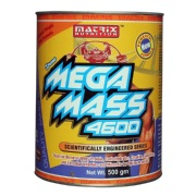 Matrix Nutrition Mega Mass 4600,  Chocolate  1.1 lb