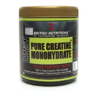 British Nutritions Pure Creatine,  Unflavoured  0.66 lb