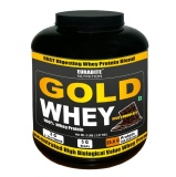 Euradite Nutrition Gold 100% Whey Protein,  5 Lb  Chocolate