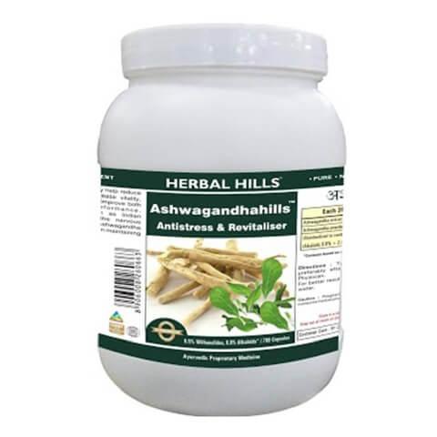 Herbal Hills Ashwagandha Hills Value Pack,  700 capsules