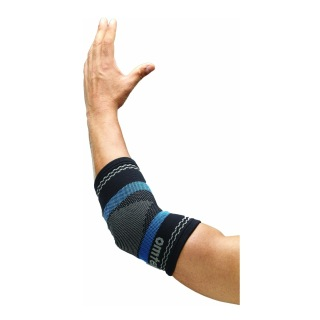 Omtex Superior Elastic Elbow Support,  Black  Large