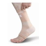 Omtex Superior Elastic Ankle Support,  Beige  Medium