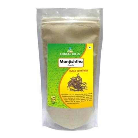 Herbal Hills Manjishtha Powder,  0.2 kg