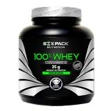 Six Pack Nutrition 100% Whey,  4.4 Lb  Choco Caramel