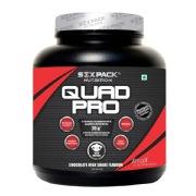 Six Pack Nutrition Quad Pro,  4.4 lb  Chocolate Milk Shake