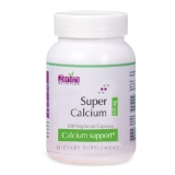Zenith Nutrition Super Calcium (600mg),  Unflavoured  180 Veggie Capsule(s)