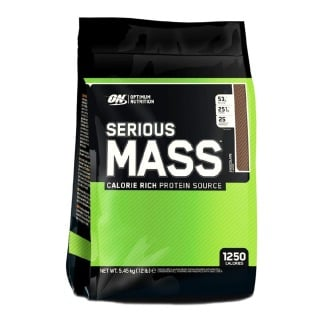 ON (Optimum Nutrition) Serious Mass,  Chocolate  12 lb