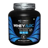 Six Pack Nutrition Whey ABC,  4.4 Lb  Rich Chocolate