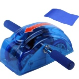 B Fit USA Roller Slide With Deluxe Knee Mat,  Blue  25*15*10 Inches