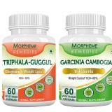 Morpheme Remedies Garcinia Cambogia + Triphala Guggul,  120 Capsules
