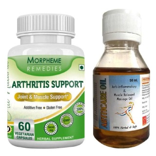 Morpheme Remedies Arthritis Support + Arthcare Oil,  2 Piece(s)/Pack