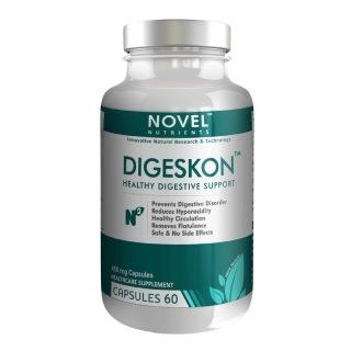 Novel Nutrients Digeskon (450mg),  60 capsules