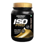 Six Pack Nutrition Iso Pro Whey Protein Isolate,  2.2 lb  Coffee Caramel