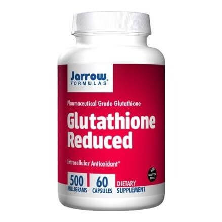 Jarrow Formulas Reduced Glutathione (500mg),  60 capsules