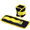 B Fit USA Ankle/Wrist Weight (AB3742),  Yellow & Black  0.5 kg