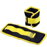 B Fit USA Ankle/Wrist Weight,  Yellow & Black  0.5kg*2