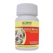Scortis Safed Musli (300 mg),  60 capsules