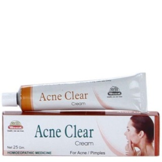 Herbasynth Acne Clear Cream (Pack Of 4),  25 G  Clears Pimples