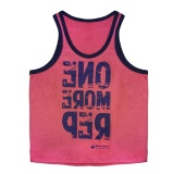 MuscleBlaze Vest One More Rep,  Coral  Free Size