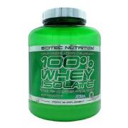 Scitec Nutrition 100% Whey Isolate,  4.4 lb  Vanilla