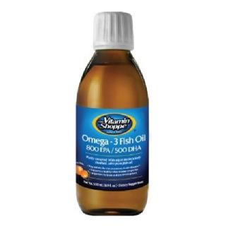 The Vitamin Shoppe Omega 3 Fish Oil 300 Epa/ 500 Dha,  5 Oz