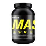 Nutech Nutritions Mass Gainer,  Chocolate  6 Lb
