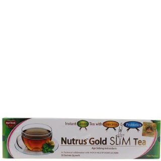 Nutrus Gold Slim Tea,  50 sachets/pack  Natural