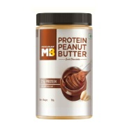 MuscleBlaze High Protein Peanut Butter,  0.750 kg  Dark Chocolate Creamy
