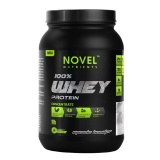 Novel Nutrients 100% Whey Protein Concentrate,  1 Lb  Strawberry