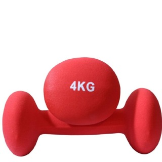 B Fit USA Neoprene Dumbbell (6031),  Red  4 kg