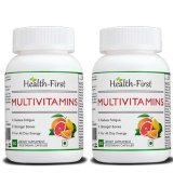Health First Multivitamins (Pack Of 2),  Unflavoured  60 Veggie Capsule(s)
