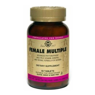 Solgar Female Multiple,  Unflavoured  60 tablet(s)