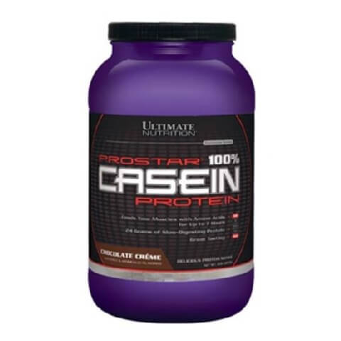 Ultimate Nutrition Prostar 100% Casein Protein,  2 lb  Chocolate Creme