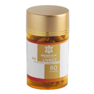 Biogetica AV Livact,  80 capsules