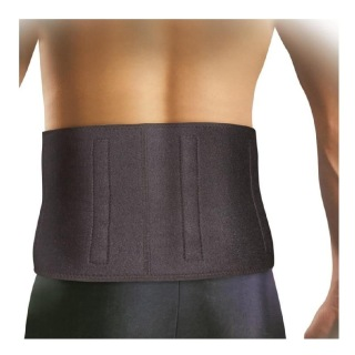 B Fit USA Magnetic Waist Support & Lumbar Support (AB6301),  Black  Free Size