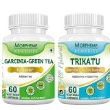 Morpheme Remedies Garcinia-Green Tea + Trikatu,  120 Veggie Capsule(s)  Unflavoured