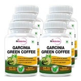 St.Botanica Garcinia Green Coffee Extract (500 Mg) Pack Of 6,  90 Veggie Capsule(s)