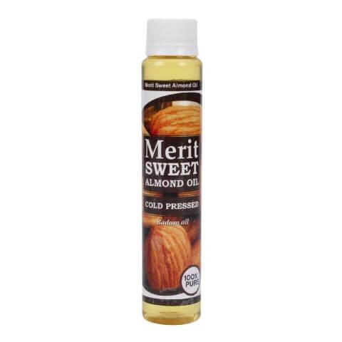 Merit Sweet Almond Oil,  100 ml  Skin & Hair Treatment
