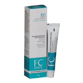 Finn Cosmeceuticals FC White Advanced Skin Brightening Cream,  20 G  For All Skin Types