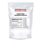 BigBang Nutrition Creatine Monohydrate,  Unflavoured  0.22 Lb