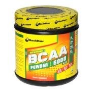 MuscleBlaze BCAA 6000,  400 g  Tangy Orange (50 Servings)