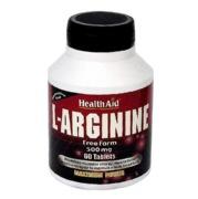 HealthAid L-Arginine (500 mg), 60 tablet(s