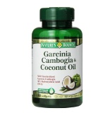 Nature's Bounty Garcinia Cambogia & Coconut Oil,  60 Softgels