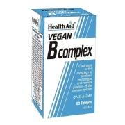 HealthAid Vegan B Complex,  Unflavoured  60 tablet(s)